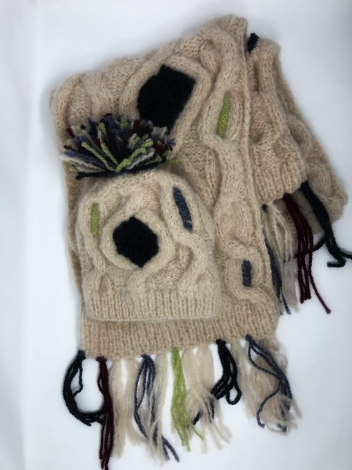 Baby alpaka mütze handmade