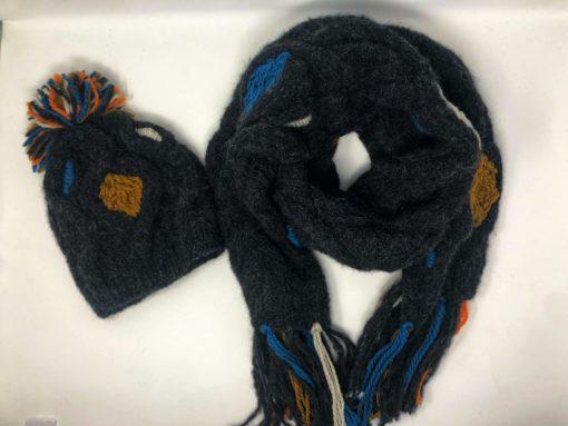 Baby Alpaka Mütze und Schal Handmade